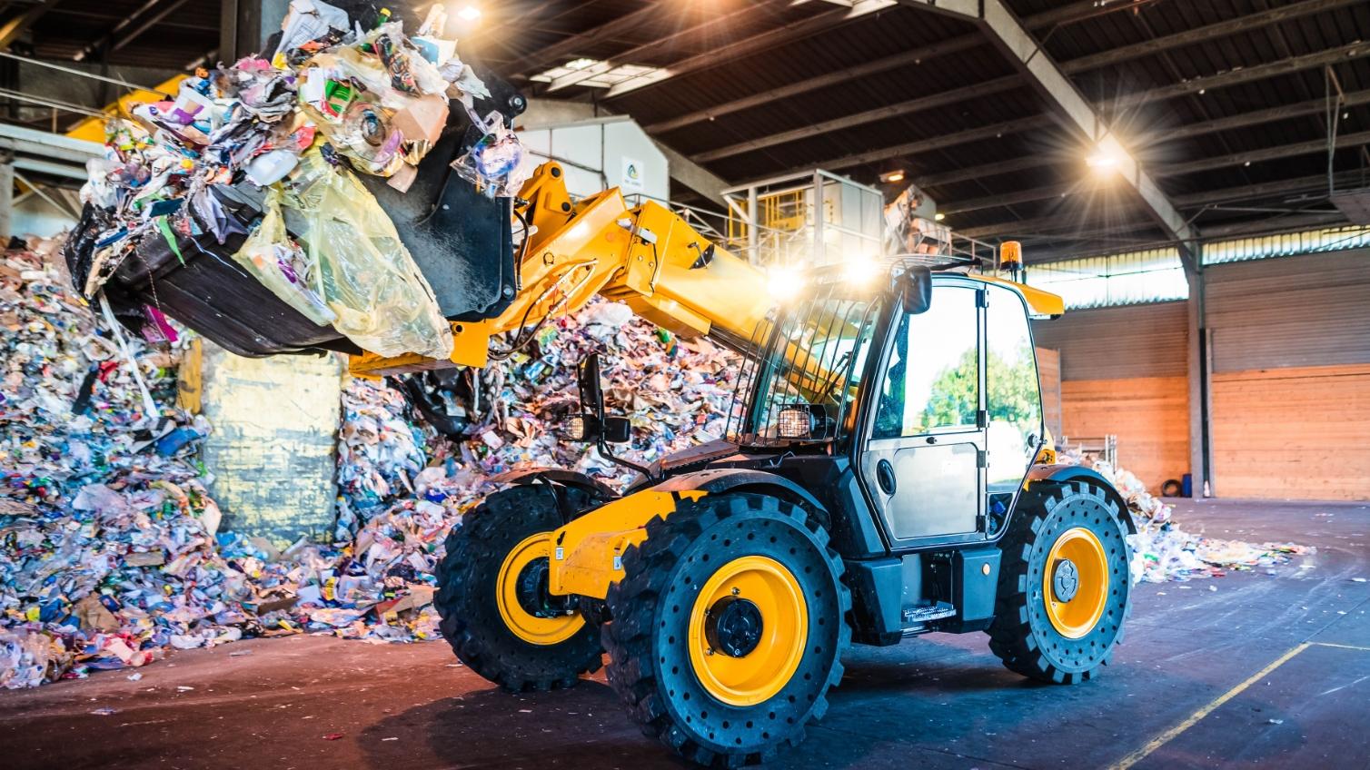計量システムで廃棄物の計量の手間を省こう!